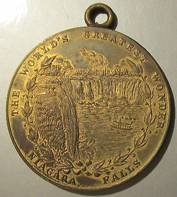 1901 Buffalo N.Y. PAN-AMERICAN EXPOSITION Niagara Falls Electric Tower Medal
