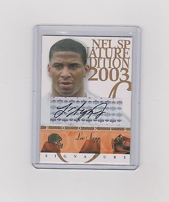 2003  Lee Suggs   Sp Signature Edition Rookie Auto