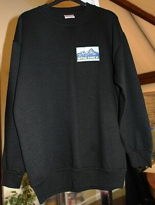 Black sweatshirt - Peak 2005 - Chatsworth Derbyshire International scout camp