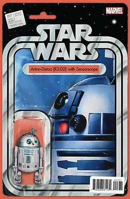 Star Wars #27 Action Figure R2D2 Sensorscope Variant Comic Book Marvel Comics