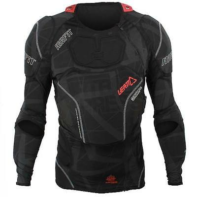 New Leatt 3Df Airfit Motocross Enduro Body Protector Armour Black Small Medium
