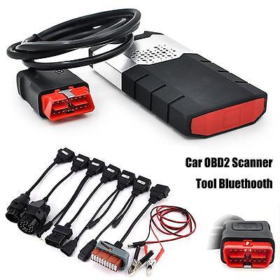 New Auto Car Truck Bluetooth OBD2 Diagnostic Tool Interface Scanner 8 Car Cable