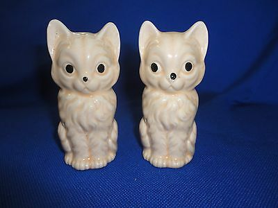 Primitive Kitty Cat Vintage Salt and Pepper Shakers