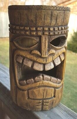 Luau Tiki Solar Centerpiece Garden Yard Party Decor Tikiman Halloween use too!