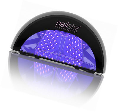 NailStar® Professional LED Nail Lamp Dryer for Gel Polish with 30sec, 60sec