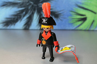 Playmobil Figur Klicky Kapitän für 3550 Version 1 (1978) Pirat Piratenschiff 110