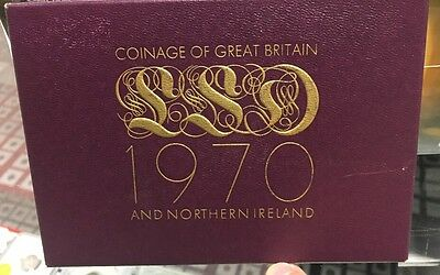 1970 Proof Coinage of Great Britain - Final pre-Decimal coinage of the U.K.