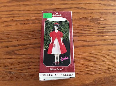 Hallmark  keepsakes ornament silken flame  barbie ~img #0885