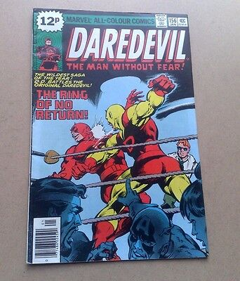 Daredevil #156 Marvel Comics Jan 1979  Fine Cond Bagged & Boarded Stan Lee