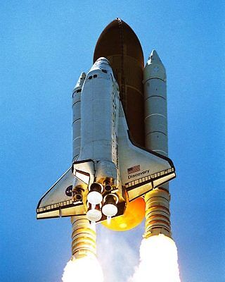 Independence Day Discovery Shuttle Launch 16x20 Silver Halide Photo Print