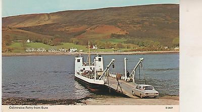 Colintraive Ferry from Bute. Postcard in VGC. Unwritten and Unposted