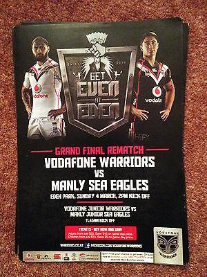 New Zealand Rugby League Flyer