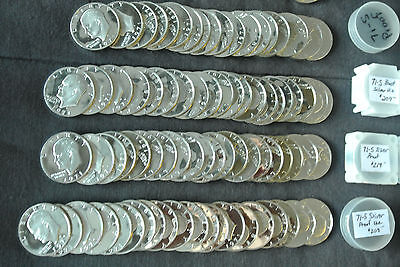 1971-S  40% Silver Proof Ike Eisenhower Dollar Rolls  ~Exceptionally Nice!~