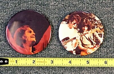 1980S Ozzy Osbourne Pin Lot (2) Nice Cond!! No Res!!free Shipping