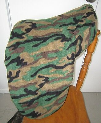 Horse Saddle cover CAMOFLAUGE with FREE EMBROIDERY Australian Made Protection
