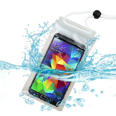 For Clear Transparent Waterproof Underwater Phone Pouch Bag with Lanyard