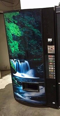 Vendo 10024T 10 Selection Multi Price Soda Can Vending Machine Model 721TDD01264