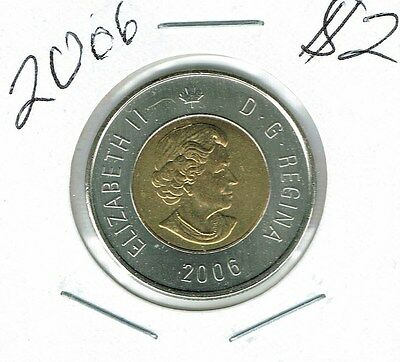 2006 Canadian Brilliant Uncirculated $2 Toonie coin!