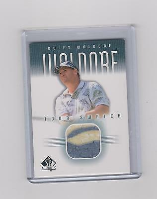 2001 Duffy Waldorf   Sp Authentic Tour Swatch