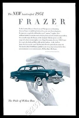 1951 Frazer sedan car Paul Rand art vintage ad