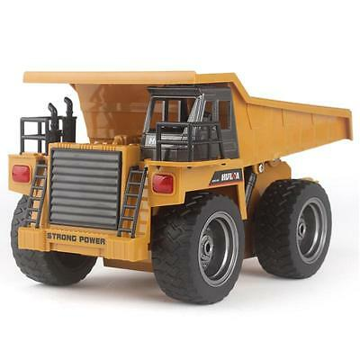 RC Radio Control Car Toy DUMP Truck Construction Engineer Vehicle Alloy Version