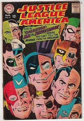Justice League of America #61 The strict FN- 6.0  High-Grade  100s more to grab