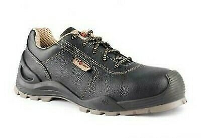 Aimont safety shoes work low leather roboris n 41 black