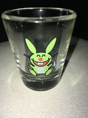"Jim Benton Happy Bunny Shot Glass ""hi Loser"" Shot Glass Happy Bunny Shot Glass"