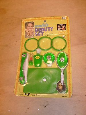 Rare Vintage Marie Osmond Child's Carded Beauty Set Still On The Card!