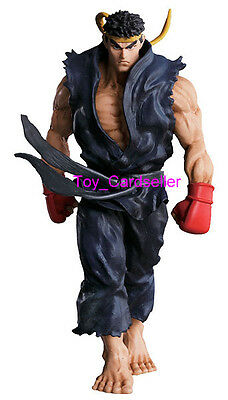 Bandai Super Modeling Soul Street Fighter IV 4 Collection Figure Ryu Black Ver.