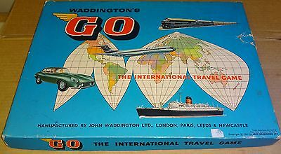 Selection Of Replacement Spares For Vintage Waddington 1961 Go Travel Board Game