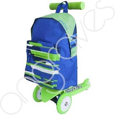Zinc Rucksack Backpack Scooter Sports Childrens Ride On Fun Gift