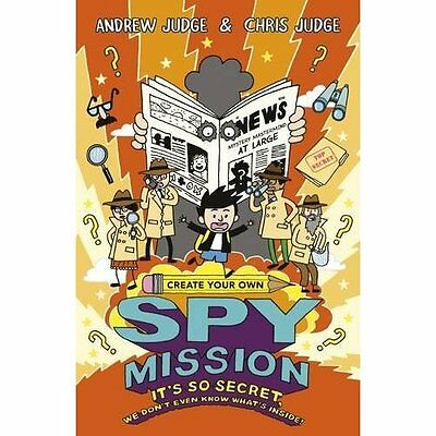 CREATE YOUR OWN SPY MISSION - Paperback NEW Chris Judge(Aut 07-Apr-16