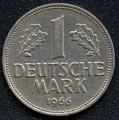 Germany 1966 'G' 1 Mark Coin