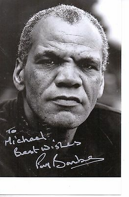 Paul Barber (The Full Monty)  Hand Signed Picture Vg+ Condition 3.5 X 5.5