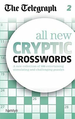 The Telegraph: All New Cryptic Crosswords 2 (The Telegraph (PB) 0600625001
