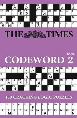 **NEW** - The Times Codeword 2 (Paperback) 0007368194