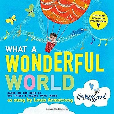 **NEW** - What a Wonderful World Book and CD (Paperback) 0192736914