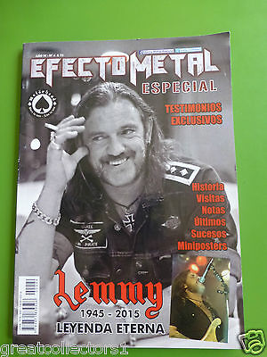 Motorhead Special Lenny 98 Pages Magazine Argentina