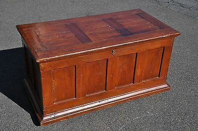 Antique Pine Carpenters Tool Chest Truck