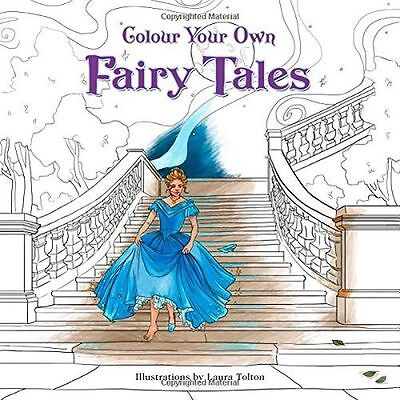 **NEW** - Colour Your Own Fairy Tales (Paperback) 0008206821