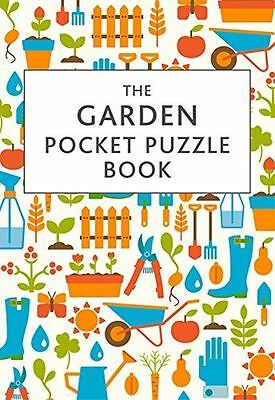 **NEW** - The Garden Pocket Puzzle Book (Hardcover) 1849536821