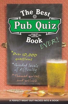 **NEW** - The Best Pub Quiz Book Ever! (Paperback) 1844421805