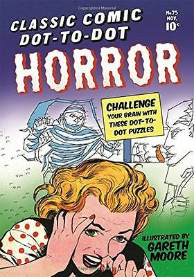 **NEW** - Classic Comic Dot-to-Dot: Horror (Paperback) 1782437274