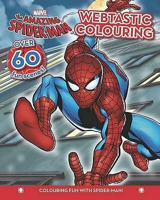**NEW** - Spider-Man Colouring Fun (Paperback) 1445459906