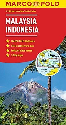 NEW - Malaysia, Indonensia Marco Polo Map (Marco Polo Maps) (Map) 3829770006