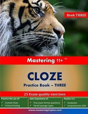 **NEW** - Mastering 11+ CLOZE - Practice Book 3 (Paperback) 191067804X