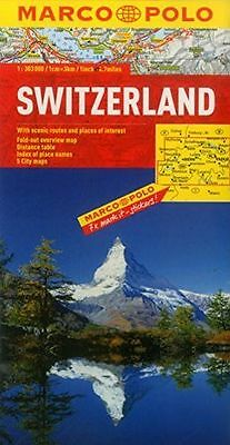 **NEW** - Switzerland Marco Polo Map (Marco Polo Maps) (Map) 382976717X
