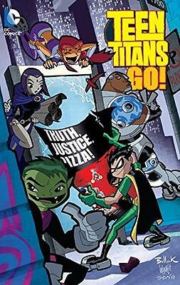 **NEW** - Teen Titans Go Truth Justice Pizza TP (Paperback) 1401261965