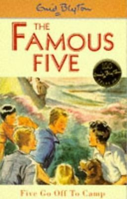 **NEW** - Five Go Off To Camp: Book 7 (Famous Five) (Paperback) 0340681128